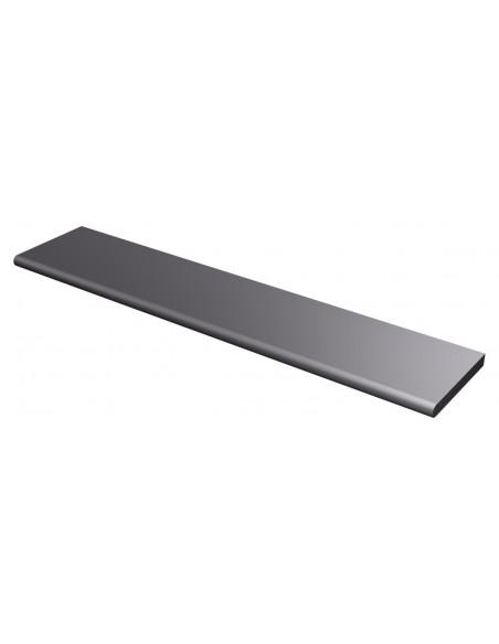 Piano di lavoro (38 cm) in acciaio inox