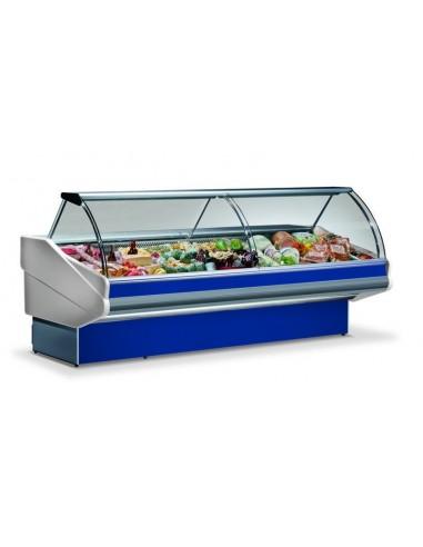 espositore refrigerato orizzantale salina Lux