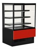 vetrina evok rossa base nera