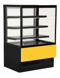 vetrina evok giallo base nera