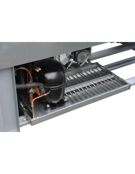 Vulcano 80 FV dettaglio unità condensatrice