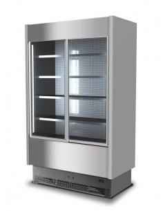 Banco frigo inox Vetri Scorrevoli C