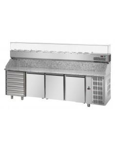 Tavolo refrigerato Pizza 600X400
