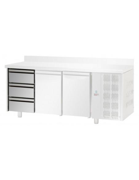 3x1/3 - Cassetti refrigerati in Acciaio Inox