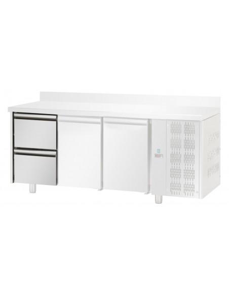 2x1/2 - Cassetti refrigerati in Acciaio Inox