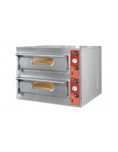 Forno Elettrico 4 + 4 Pizze