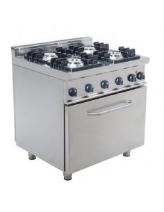 Cucina 4 fuochi gas + Forno