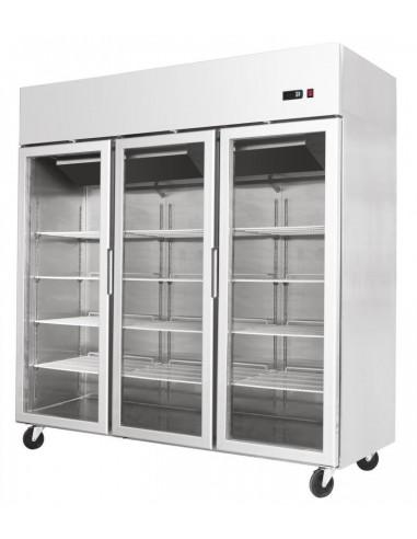 Armadio Refrigerato GN 2/1 a bassa temperatura e normale con due porte