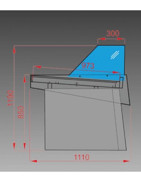 scheda tecnica banco frigo nettuno
