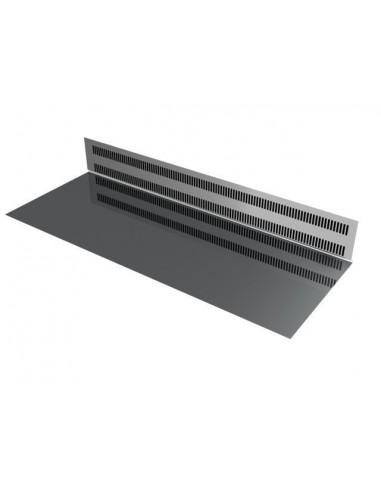 Piano esposizione e difesa evaporatore in acciaio inox