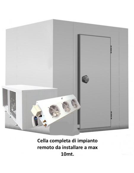 cella con impianto remoto